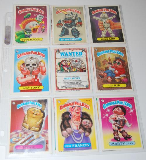 Garbage pail kids cards (2)
