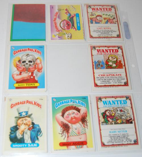 Garbage pail kids cards 3