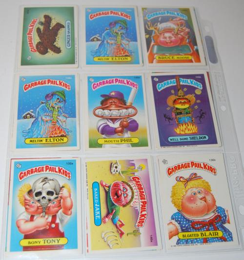 Garbage pail kids cards 8