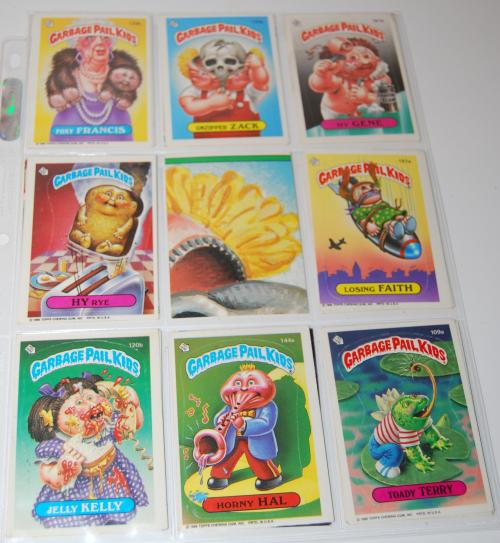 Garbage pail kids cards 9
