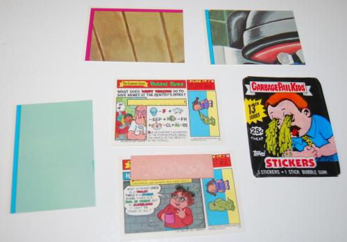 Garbage pail kids cards 1988 x