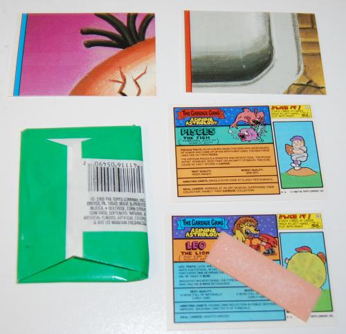 Garbage pail kids cards 15th series x
