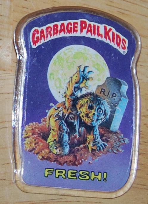 Garbage pail kids button 2
