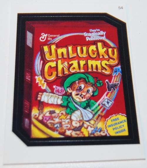 Wacky packs sets cards 14