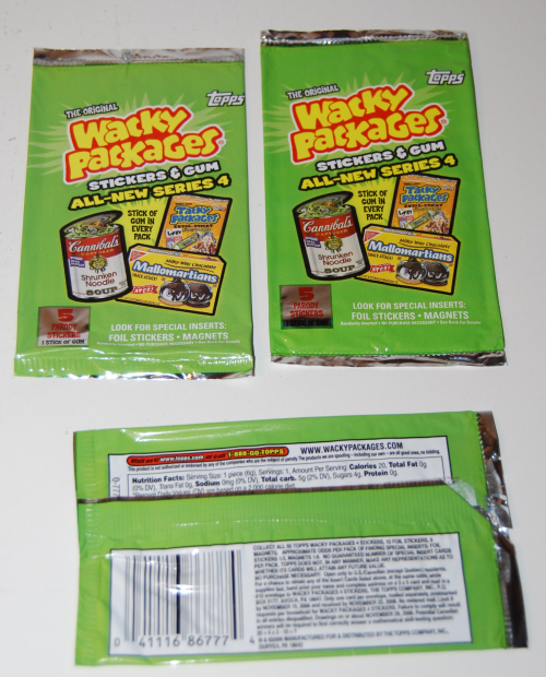 Wacky packages all new series 4