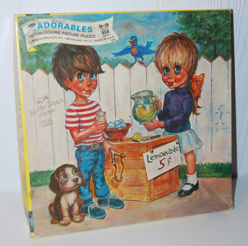 The adorables vintage puzzle 5