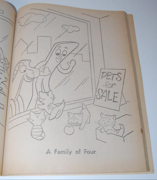Gumby & pokey coloring book whitman 5