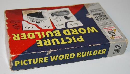 Milton bradley picture word builder 1