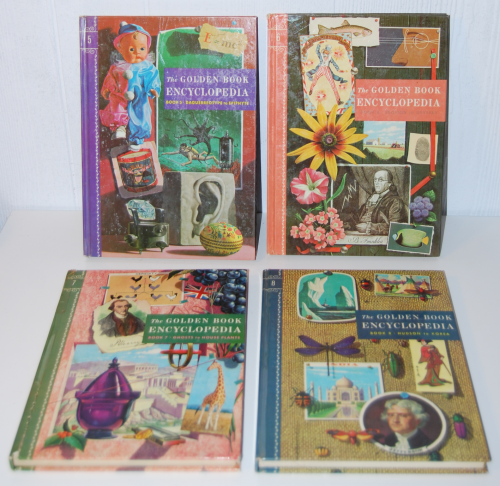 The golden book picture encyclopedia set 2
