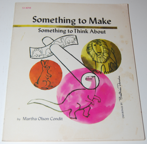 Scholastic book something to make