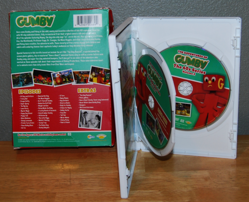 Gumby 60s dvd set volume 2 blockheads 3