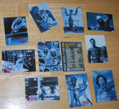 Universal monsters of thr silver screen cards 2