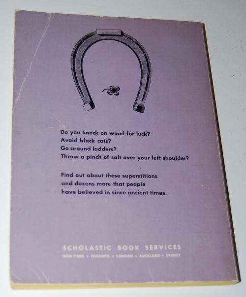 Superstitious scholastic book x