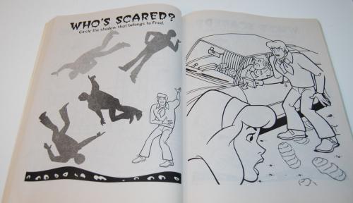 Scooby doo shagadelic coloring book 6