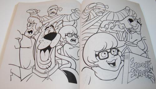 Scooby doo shagadelic coloring book 9