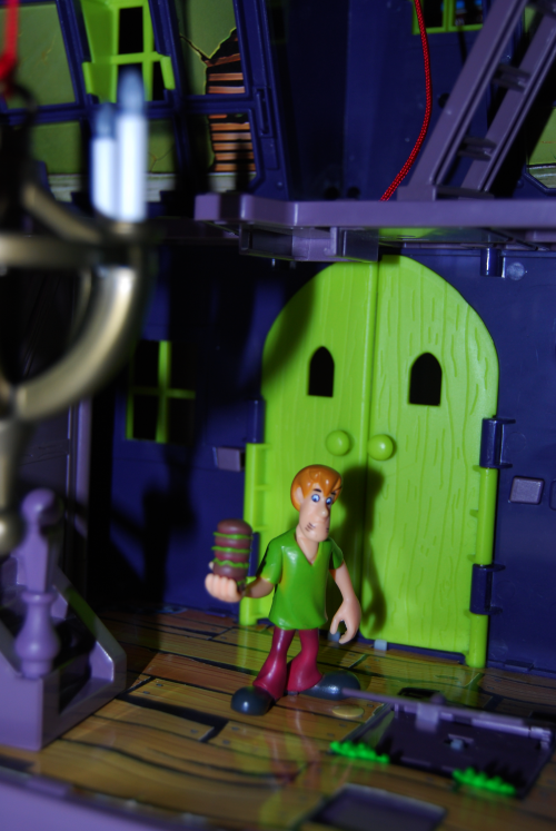Scooby doo haunted house 6