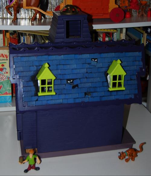 Scooby doo haunted house 16