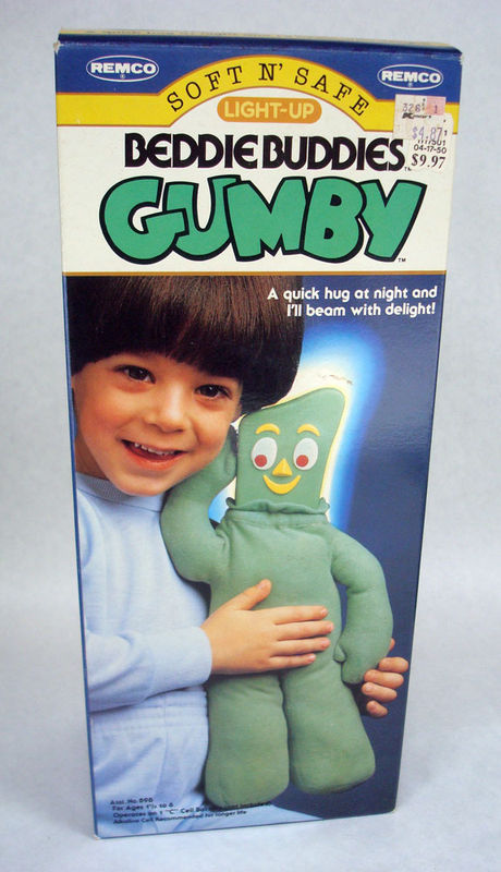 Remco glow gumby