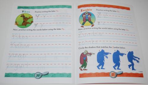 Scooby doo printing practice book 7