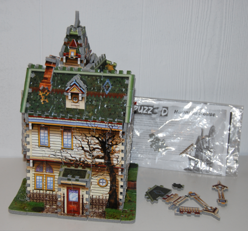 Haunted house 3d puzzle