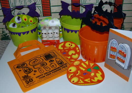 Halloween happy meal pails