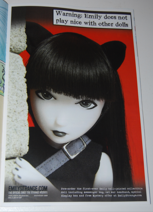 Emily strange doll ad