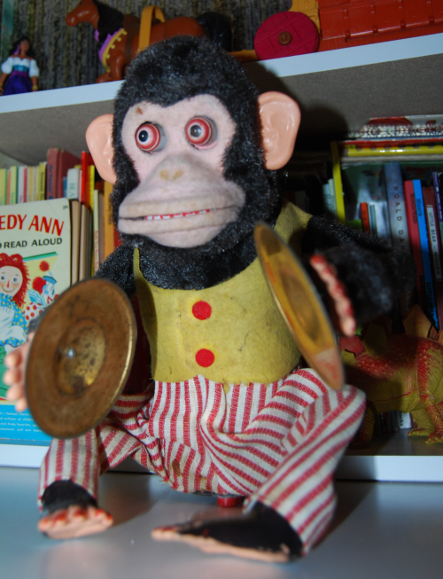 Jolly chimp toy 2