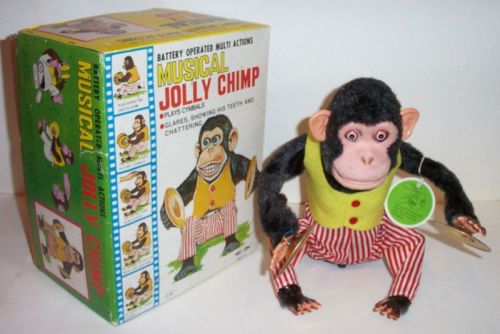 Jolly chimp box