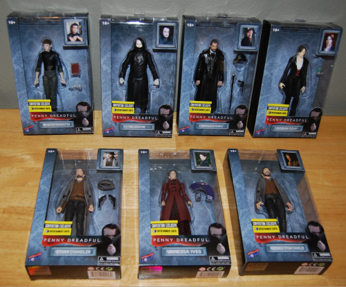 Penny dreadful figure collection