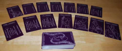 Penny dreadful tarot cards 8