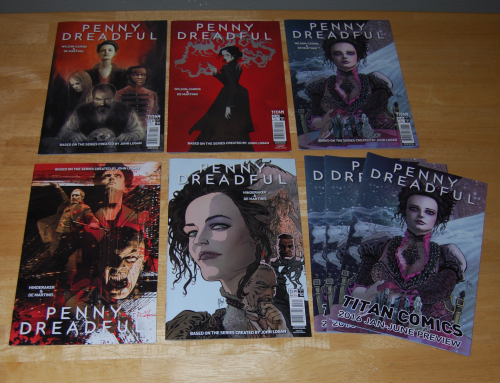 Penny dreadful comics