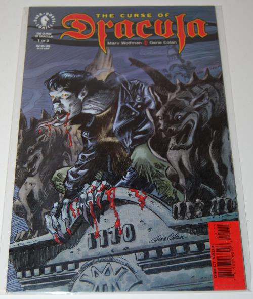 The curse of dracula comic book 2