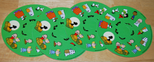 Peanuts happy meal stickers