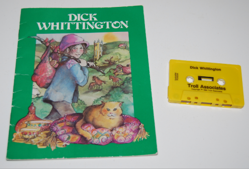 Troll book & tape dick wittington