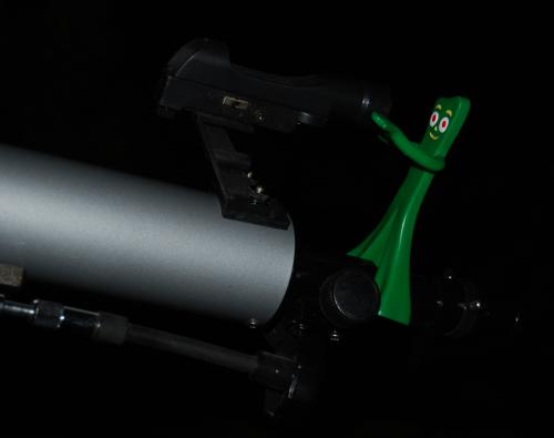 Gumby telescope x