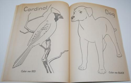 Color me vintage coloring book 7