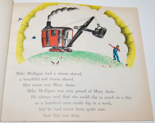 Scholastic book mike mulligan & the steam shovel 3