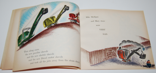 Scholastic book mike mulligan & the steam shovel 5