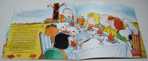 A charlie brown thanksgiving book 4