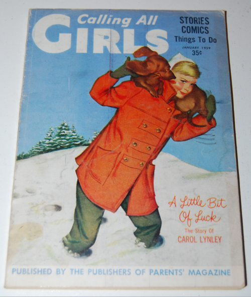 Calling all girls january 1959