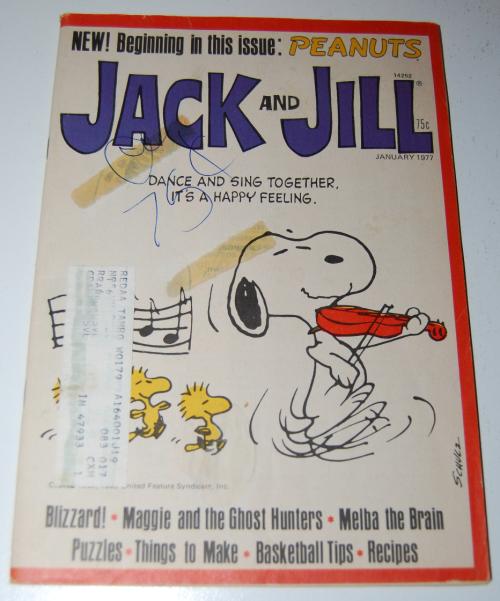 Jack & jill magazine january 1977