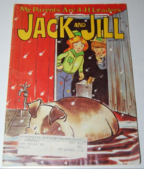 Jack & jill magazine january 1976