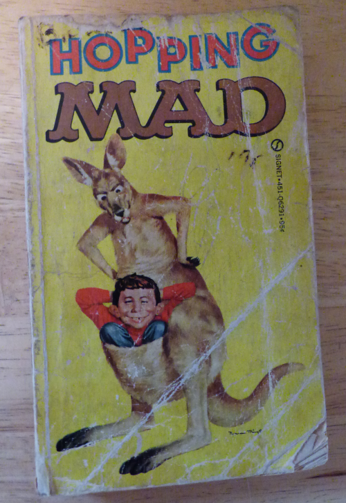 Vintage hopping mad book