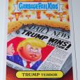 Garbage pail kids trump