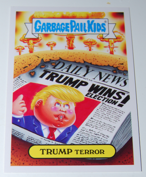 Garbage pail kids trump