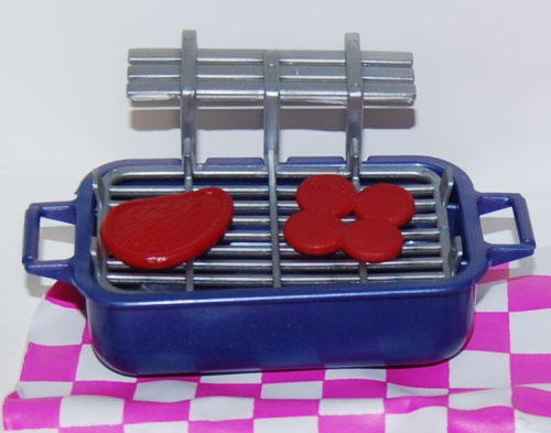 Barbie grill picnic set x