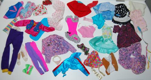 Barbie clothes assortment