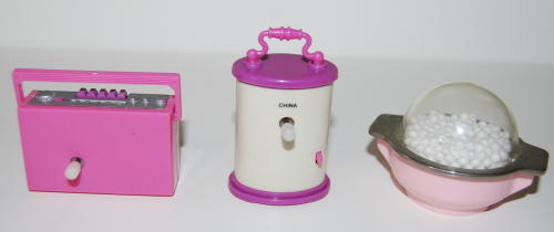 Barbie windup accessories x