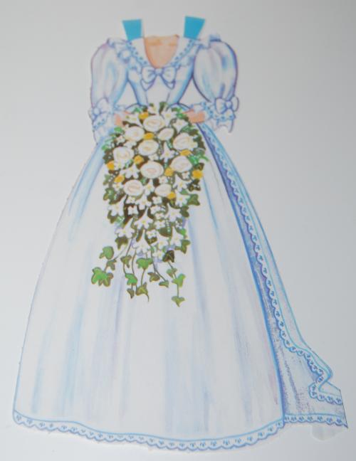 Princess diana paperdoll 1985 1
