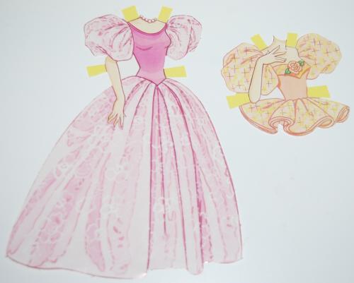 Paperdoll barbie 1990 2